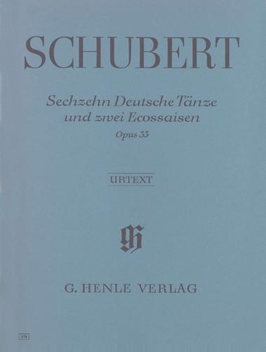 16 Danses allemandes et 2 Ecossaises Opus 33 D 783 / 16 German Dances and 2 Ecossaises Opus 33 D 783 (Schubert, Franz)