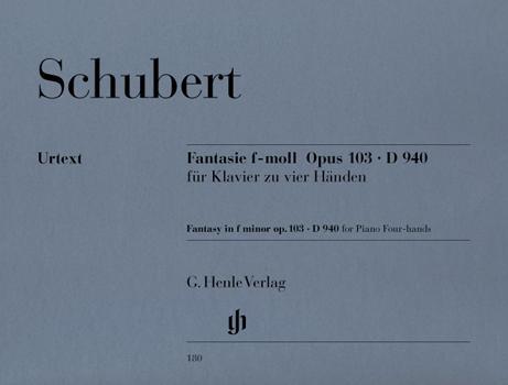Fantaisie en fa mineur D 940 Opus 103 / Fantasy in F minor D 940 Opus 103 (Schubert, Franz)