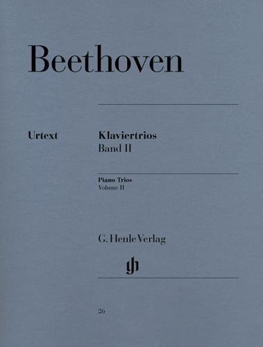Beethoven, Ludwig van : Piano Trios, Volume II