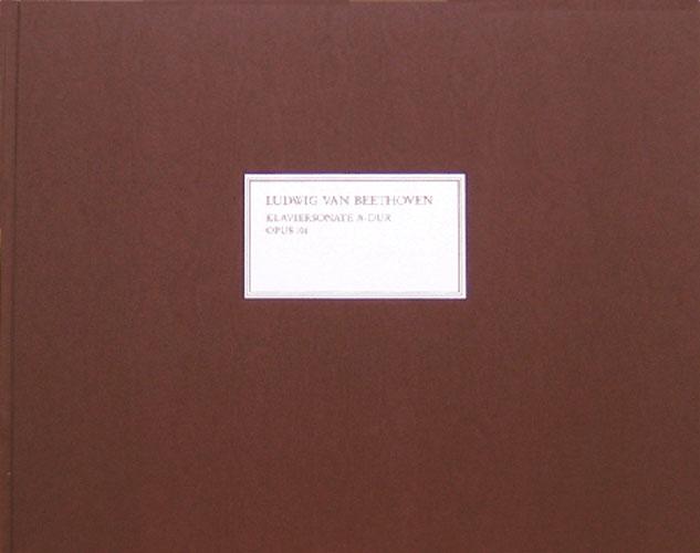 Sonate pour piano en la majeur Ops 101 / Piano Sonata in A Major Opus 101 (Beethoven, Ludwig van)