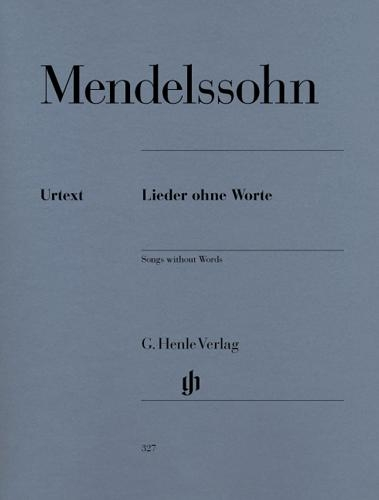 Romances sans paroles / Songs without Words (Mendelssohn, Félix)