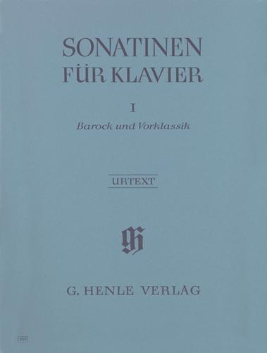 Sonatines pour piano - Volume 1 : Baroque et Pré-classique / Sonatinas for Piano - Volume 1 : Baroque to pre-Classic (Divers Auteurs)