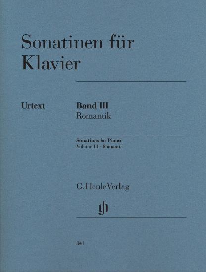 Sonatines pour piano - Volume 3 : Romantique / Sonatinas for Piano - Volume 3 : Romantic (Divers Auteurs)