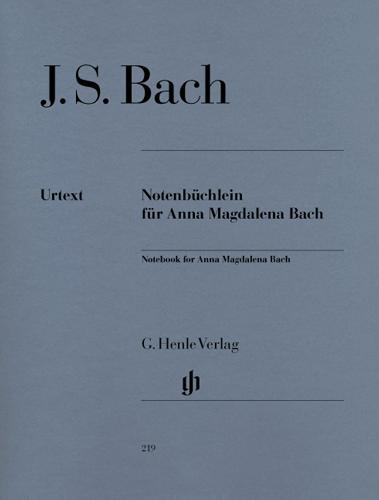 Le Petit Livre d'Anna Magdalena Bach, 1725 / Notebook for Anna Magdalena Bach, 1725 (Bach, Johann Sebastian)