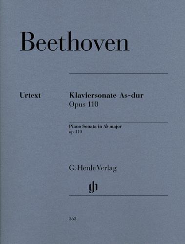 Sonate pour piano en la bémol majeur Opus 110 / Piano Sonata in A-flat Major Opus 110 (Beethoven, Ludwig van)