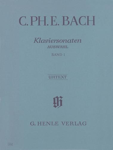 Sonates pour piano, Sélection - Volume 1 / Piano Sonatas, Selection - Volume 1 (Bach, Carl Philipp Emanuel)