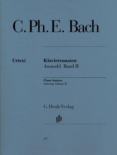 Sonates pour piano, Sélection - Volume 2 / Piano Sonatas, Selection - Volume 2 (Bach, Carl Philipp Emanuel)