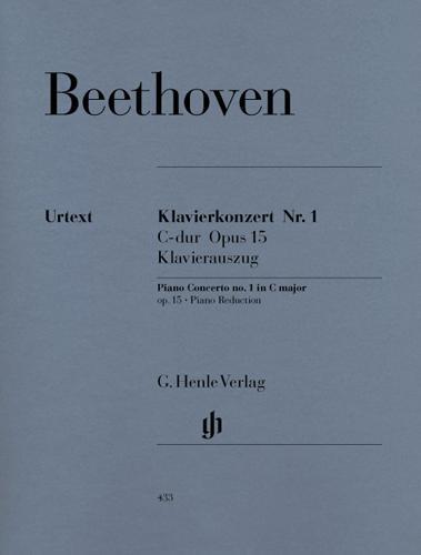 Concerto pour piano et orchestre n° 1 en ut majeur Opus 15 / Concerto for Piano and Orchestra No. 1 in C Major Opus 15 (Beethoven, Ludwig van)