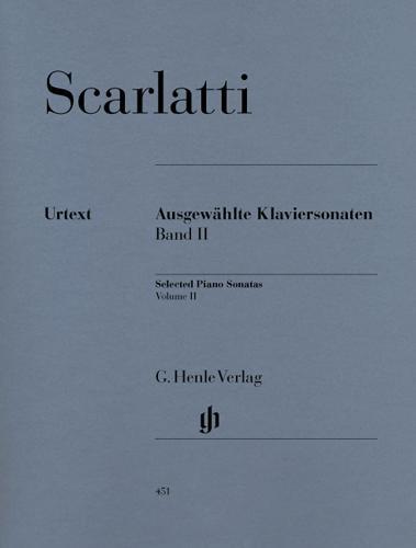 Sonates choisies pour piano - Volume II / Selected Piano Sonatas - Volume II (Scarlatti, Domenico)