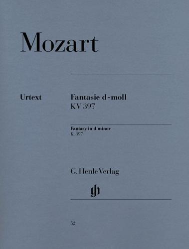 Fantaisie en ré mineur KV 397 (385g) / Fantasy in D minor KV 397 (385g) (Mozart, Wolfgang Amadeus)