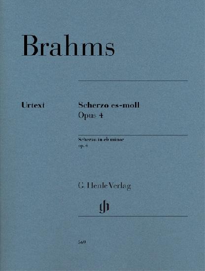 Scherzo e flat minor Opus 4