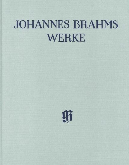Brahms, Johannes : Concerto pour piano n° 2 en Si bémol majeur op. 83