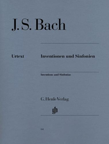 Inventions et Symphonies BWV 772-801 (Inventions à deux et trois voix) / Inventions and Symphonies BWV 772-801 (Two and three parts Inventions) (Bach, Johann Sebastian)