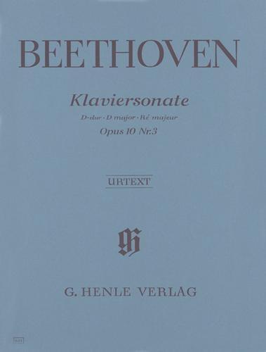 Sonate pour piano en ré majeur Opus 10 n° 3 / Piano Sonata in D Major Opus 10 No. 3 (Beethoven, Ludwig van)