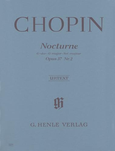 Nocturne en sol majeur Opus 37 n° 2 / Nocturne in G Major Opus 37 No. 2 (Chopin, Frédéric)