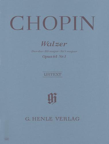 Valse en ré bémol majeur Opus 64 n° 1 (Minute) / Waltz in D-flat Major Opus 64 No. 1 (Minute) (Chopin, Frédéric)