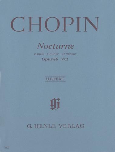 Nocturne en ut mineur Opus 48 n° 1 / Nocturne in C minor Opus 48 No. 1 (Chopin, Frédéric)