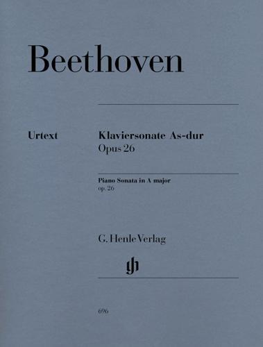 Sonate pour piano en la bémol majeur Opus 26 / Piano Sonata  A-flat Major Opus 26 (Beethoven, Ludwig van)