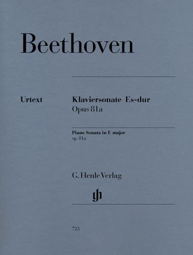 Sonate pour piano en mi bémol majeur Opus 81a (Les Adieux) / Piano Sonata in E-flat Major Opus 81a (Les Adieux) (Beethoven, Ludwig van)