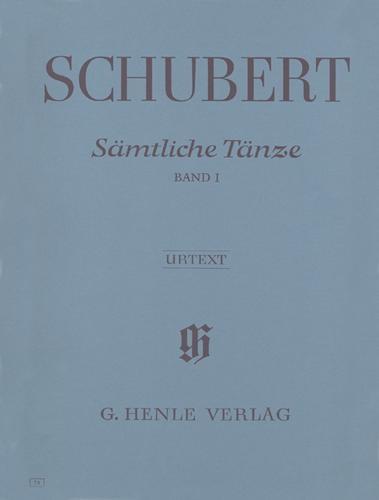 Edition intégrale des Danses - Volume 1 / Complete Dances - Volume 1 (Schubert, Franz)