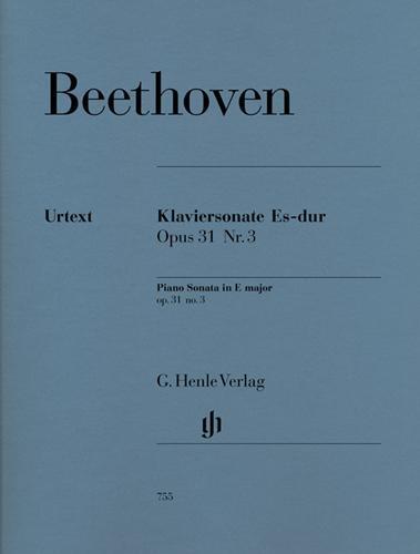 Sonate pour piano en mi bémol majeur Opus 31 n° 3  (La Chasse) / Piano Sonata in E-flat Major Opus 31 No. 3 (Hunting) (Beethoven, Ludwig van)