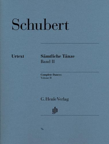 Edition intégrale des Danses - Volume 2 / Complete Dances - Volume 2 (Schubert, Franz)