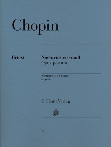 Nocturne en ut dièse mineur Opus post. KK IVa, 16 / Nocturne in C-sharp minor Opus post. KK IVa, 16 (Chopin, Frédéric)