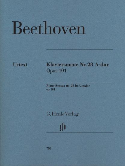 Beethoven, Ludwig van : Sonate pour piano en la majeur Ops 101 / Piano Sonata in A Major Opus 101