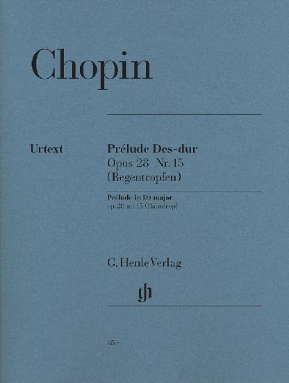 Chopin, Frédéric : Prélude en Ré bémol majeur op. 28 n° 15 (La goutte d'eau)