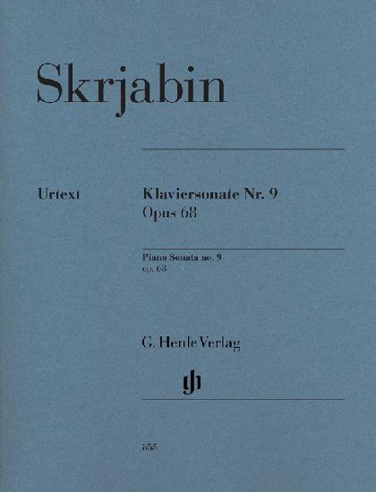 Skryabin, Alexander / : Piano Sonata n°9 Opus 68