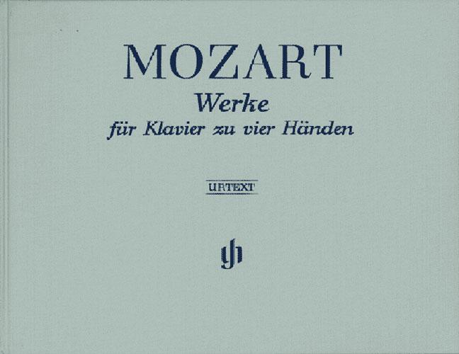 ?uvres pour piano à quatre mains / Works for Piano four-hands (Mozart, Wolfgang Amadeus)