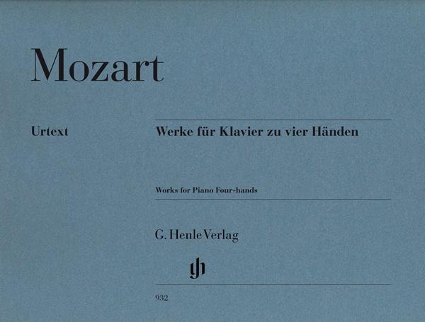 Mozart, Wolfgang Amadeus : ?uvres pour piano à quatre mains / Works for Piano four-hands