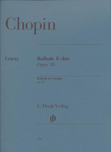 Chopin, Frédéric : Ballade F-Dur Opus 38