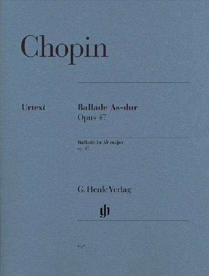 Chopin, Frédéric : Ballade As-dur Opus 47