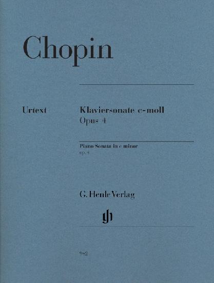 Chopin, Frédéric : Sonate pour Piano en do mineur Opus 4
