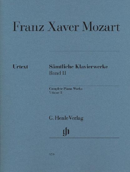 Mozart, Franz Xaver : Complete Piano Works, Volume II