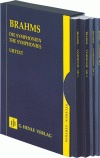 Brahms, Johannes : The Symphonies - 4 Volumes in a Slipcase