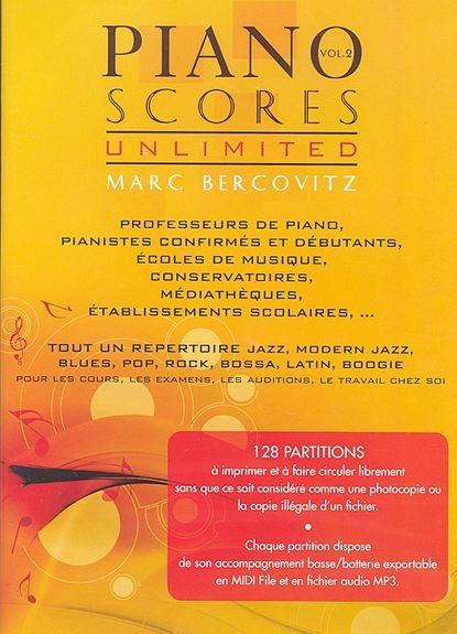 Bercovitz, Marc : Piano Scores Unlimited Vol.2