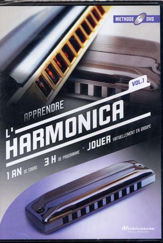 Apprendre l'Harmonica - DVD