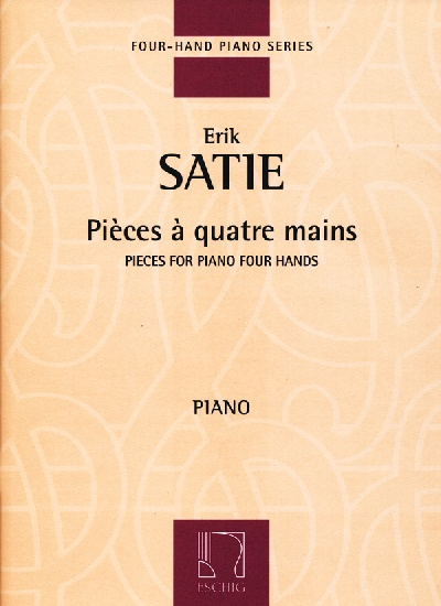 Satie, Erik : Piano Works, « Pièces à quatre mains » - Volume 5