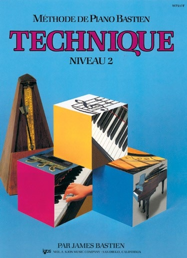 Bastien, James : Méthode de Piano Bastien : Technique Niveau 2