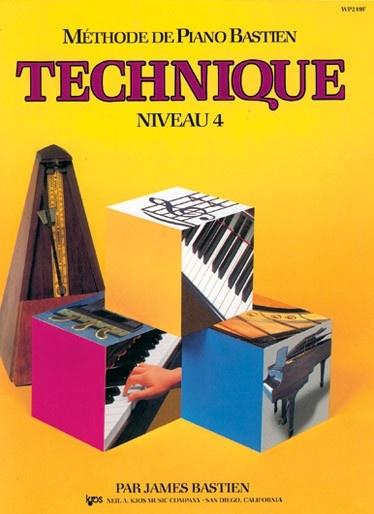 Bastien, James : Méthode de Piano Bastien : Technique Niveau 4