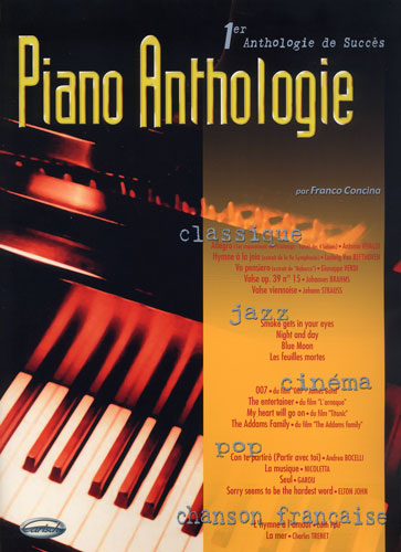 Concina, Franco : Piano anthologie - 1ère anthologie de succès