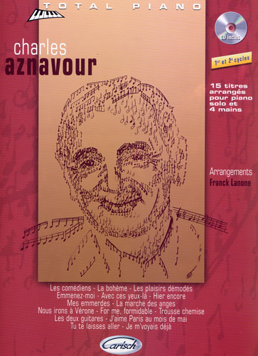 Collection total piano : Charles AZNAVOUR
