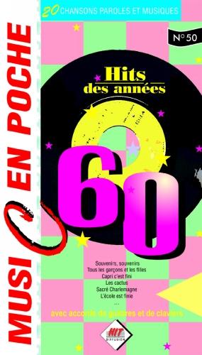 Divers : Music en poche Les années 60