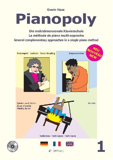 Haas, Oswin : Pianopoly Vol.1