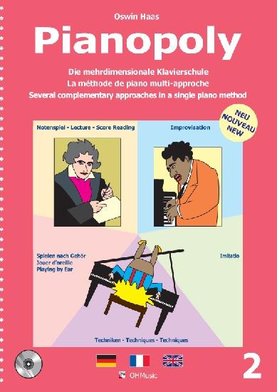 Haas, Oswin : Pianopoly Vol.2