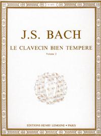 Bach, Johann Sebastian : The Well-Tempered Clavier - Volume 2 / Das Wohltemperierte Klavier - Band 2