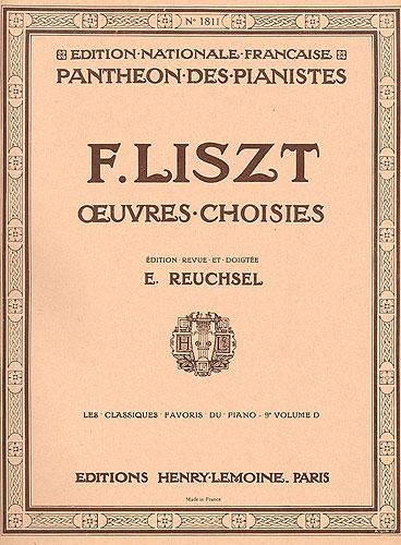 Liszt, Franz : Classiques Favoris - Volume 9 D