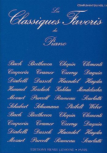 Classiques Favoris - Volume 1A : Complément